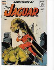 Adventures of the Jaguar #1 (1st Appr. Fn/Vf 7.0) Sept-1961, Archie Comics