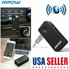 Mpow Wireless Bluetooth Receiver Aux 3.5mm Audio Stereo Music Home Car Adapter