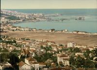 Alger. Vue panoramique prise de Mustapha.  PZ vintage photochromie, Algérie ph
