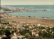 Alger. Vue panoramique prise de Mustapha.  vintage photochrom from Photochrom Zu