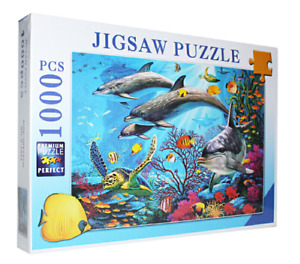 1000 Piece Jigsaw Puzzle for Adults Kids Gift - Educational Toy - Sea World