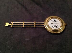 Antique Vienna Style Pendulum Bob 65mm Diam Gridiron 60g Rod 20cm