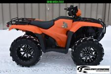2019 Honda Trx500Fe2 Fourtrax Foreman Eps Blaze Hunter Orange 4X4 Atv #1632