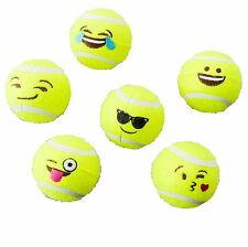 Ethical Emoji Tennis Ball 6Pack 2.5in