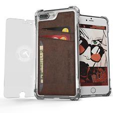 Wallet Case for iPhone 7 Plus Ghostek Exec Series Slim Armor Hybrid Impact TPU