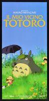 Cartel El Mio Vicino Totoro Miyazaki Anime Manga Animación Cine Película N01