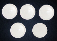 5 NEW Plastic Corning Ware LID F-16 PC fits 16 Oz French White Bowl MC FREE SHIP