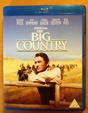 THE BIG COUNTRY (Blu-ray) GREGORY PECK. Western