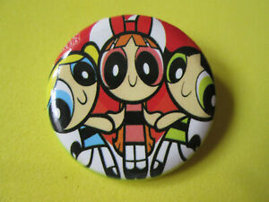 POWER PUFF GIRLS Pin Badge Button Badge - 12 Designs to Choose From