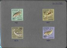 Fish French & Colonies Stamps