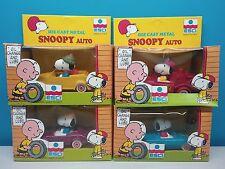 Modellino Giocattolo Macchina Da Collezione ESCI Walt Disney Puffi Snoopy 1980