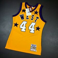 Authentic Jerry West Mitchell & Ness 1972 All Star Game Jersey Size 36 S Mens