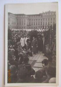 Österreich Wien Schloss Schönbrunn Feier 1936 Feldmarschall Fotokarte