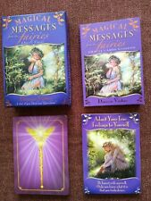 Magical Messages From The Fairies Oracle Cards 44 Card Deck w Guidebook