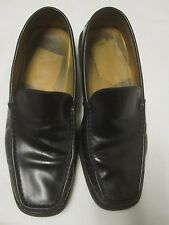 Tod's Black Loafers Made in Italy Men's Leather sole US 7