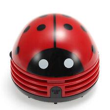 Abs Plastic Ladybug Crumby Mini Vacuum Cleaner 30 Hours 10cm Usa Ship