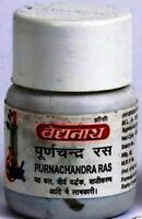 2 X Baidyanath Puranchandra Ras (2 X 40 Tablets) for sexual disorders free ship