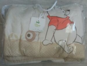 Disney Winnie The Pooh Kids Cot Bedding Set Comes With A Free Princess Tent