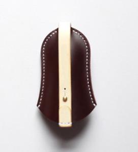 key bag case chain box genuine Cow Leather Pouch Customize handmade coffee Z792