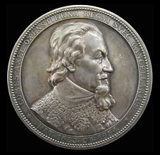 SWEDEN 1883 300th ANNIVERSARY BIRTH OF AXEL OXENSTIERNA SILVER MEDAL