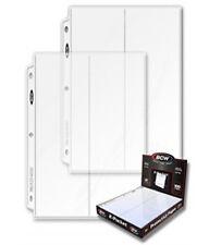 10 BCW 2 Pocket 4 x 10 Envelope FDC Binder Pages