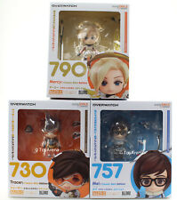 Overwatch Nendoroid 3-Pack Set Tracer Mei Mercy Classic Skin Edition 757 730 790