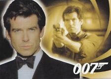 JAMES BOND - H&V  - PIERCE BROSNAN AS JAMES BOND HOLOGRAM CARD - B5