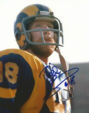 Bill Simpson Signed Los Angeles Rams 8x10 Photo Picture Pro Bowl All Pro Auto'd