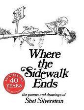 Where the Sidewalk Ends 30th A by SHEL Silverstein (Hardback, 2004)