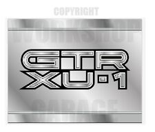 Holden Torana XU1 GTR - METAL TEXT - METAL LOOK  Stickers