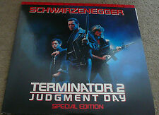 Terminator 2 Judgement Day Special Extended Edition Laserdisc Ld