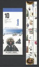 Canada 1995 Polar Bear/Plane/Boat/Dogs 10v bklt  n19616