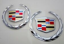 Cadillac ESCALADE 2007 08 09 10 11 12 13 2014 FRONT & REAR Emblems!!