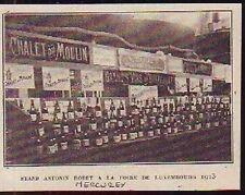 1927  -  MERCUREY  STAND BODET FOIRE DE LUXEMBOURG D426