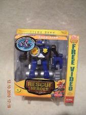 Rescue Hero's 2003 Robo Team Police Robot Clamp Down