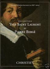 CHRISTIE'S Yves Saint Laurent Vol 2 Old Master 19 C Art