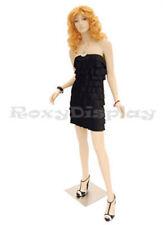 Fiberglass Female mannequin Fleshtone Color Dress Form Display #Md-A2F1