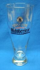 Addison Texas Oktoberfest Paulaner Weisbier Beer Glass 0.5L