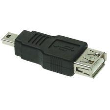 Femmina / A Adattatore  USB Mini B 5 Poli Maschio qz