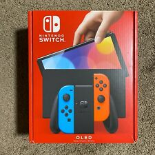 Brand New Nintendo Switch Oled - Neon Red Blue Joy-Con In hand SHIPS TODAY!! ✈️