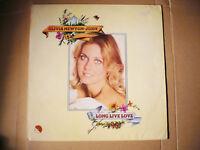 OLIVIA NEWTON-JOHN - Long live love rare license LP unique INDIA EX