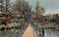 F28/ Boulder Colorado Postcard 1914 Prexy's Walk University Campus
