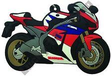 Honda CBR 1000 RR rubber key ring motor bike cycle gift chain keyring 16-17