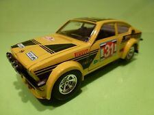 BBURAGO 1:24 - OPEL KADETT GTE RALLY  NO= 0129  - CAR IN GOOD  CONDITION
