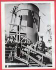 1941 RAMC Orderlies Practice POW Transfer Newhaven England 7x9 News Photo