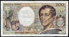 200 Francs ; MONTESQUIEU , 1992 , Alpha N.134 ; Fay# 70/12c ./L225