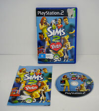 Playstation 2 PS2 - The Sims 2 Pets Complete with Manual PAL
