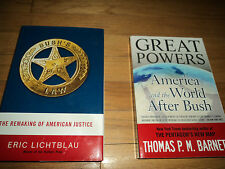 2 President George Bush Biographies American Justice AND World After Bush