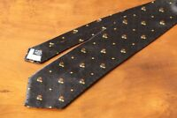 KENZO Authentic Men's Silk Black Tie Free Shipping Made in Italy New with tags
