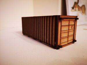 Woody Farm Building.  MASWB002 shipping container 20ft 1:32, Farm buildings